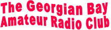 The Georgian Bay  Amateur Radio Club